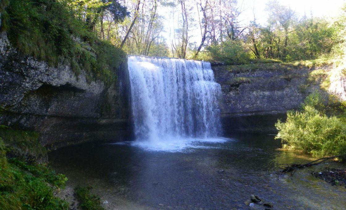 Les cascades du hérisson